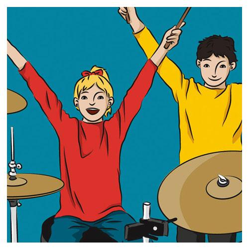 Lehrbuch Schlagzeugschule