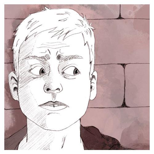 Editorialillustration Serie psychische Störungen