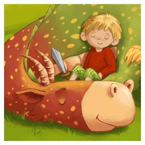 """Kinderbuch """"Ritter Max und der dicke Bert"""""""