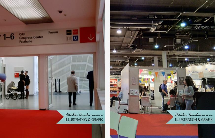 Auf der Buchmesse in Frankfurt