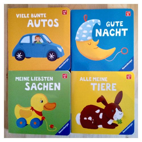 Pappbilderbücher für Ravensburger