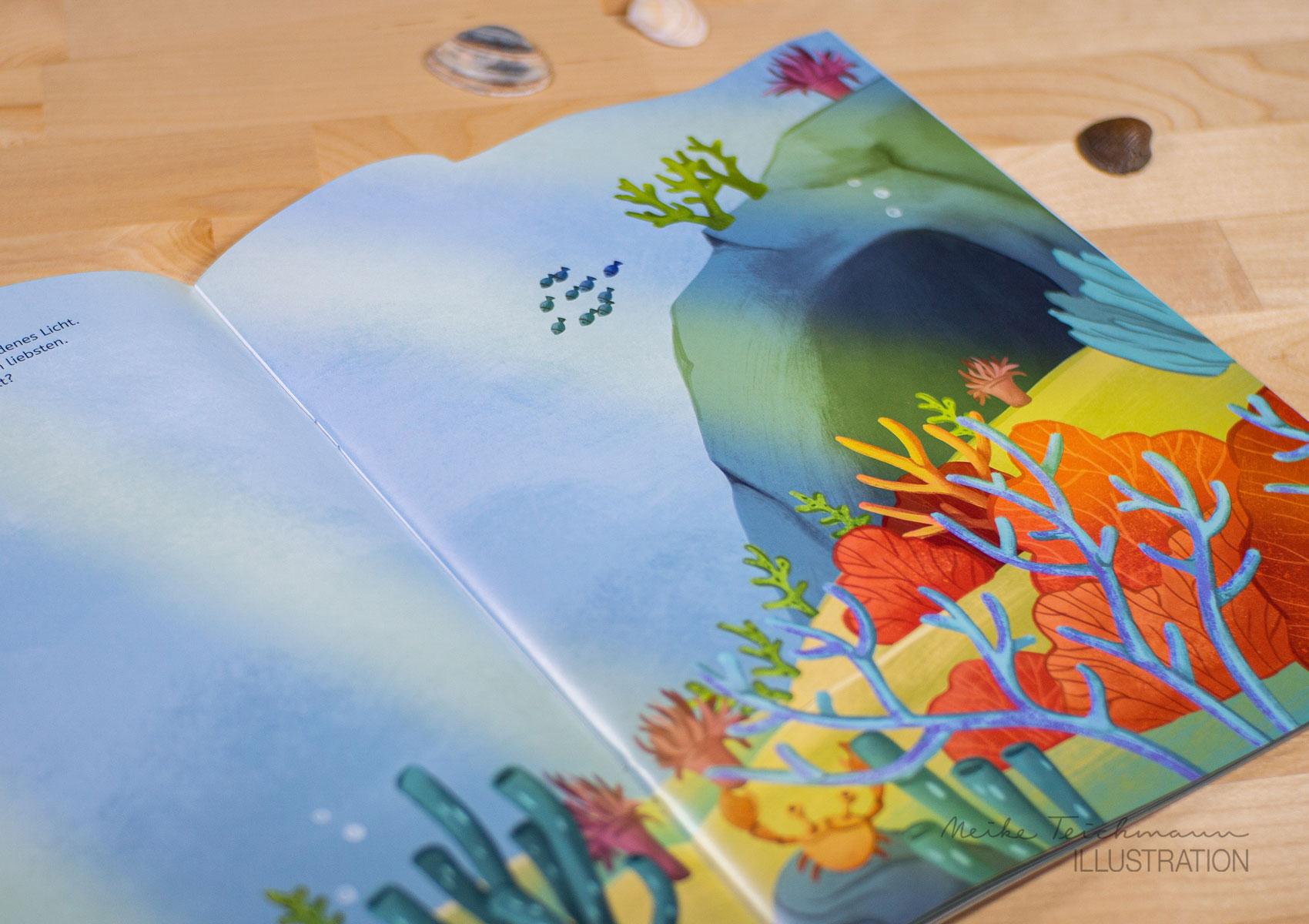 Sticker-Album Unterwasserlandschaft
