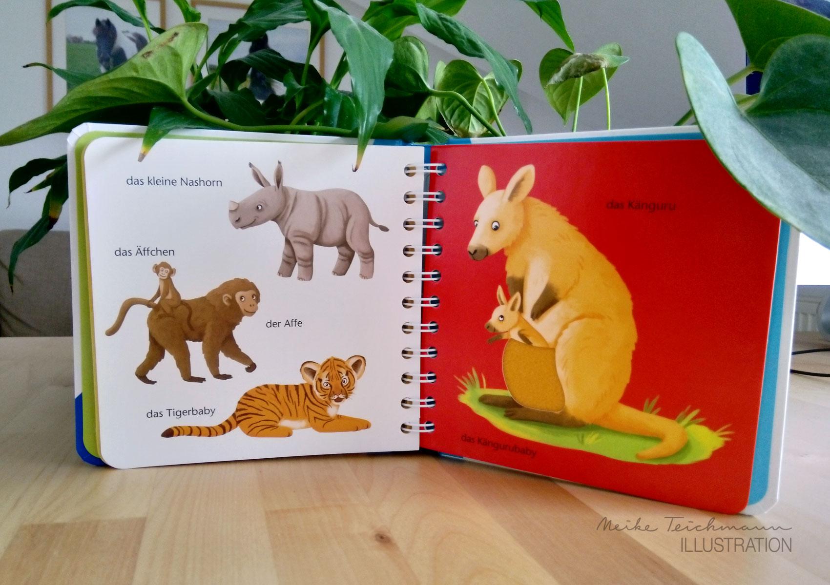 Fühlwörterbuch Tierkinder