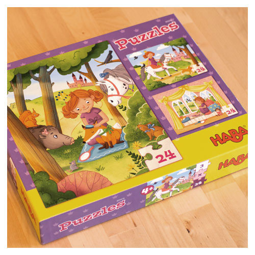 Puzzle-Set für HABA