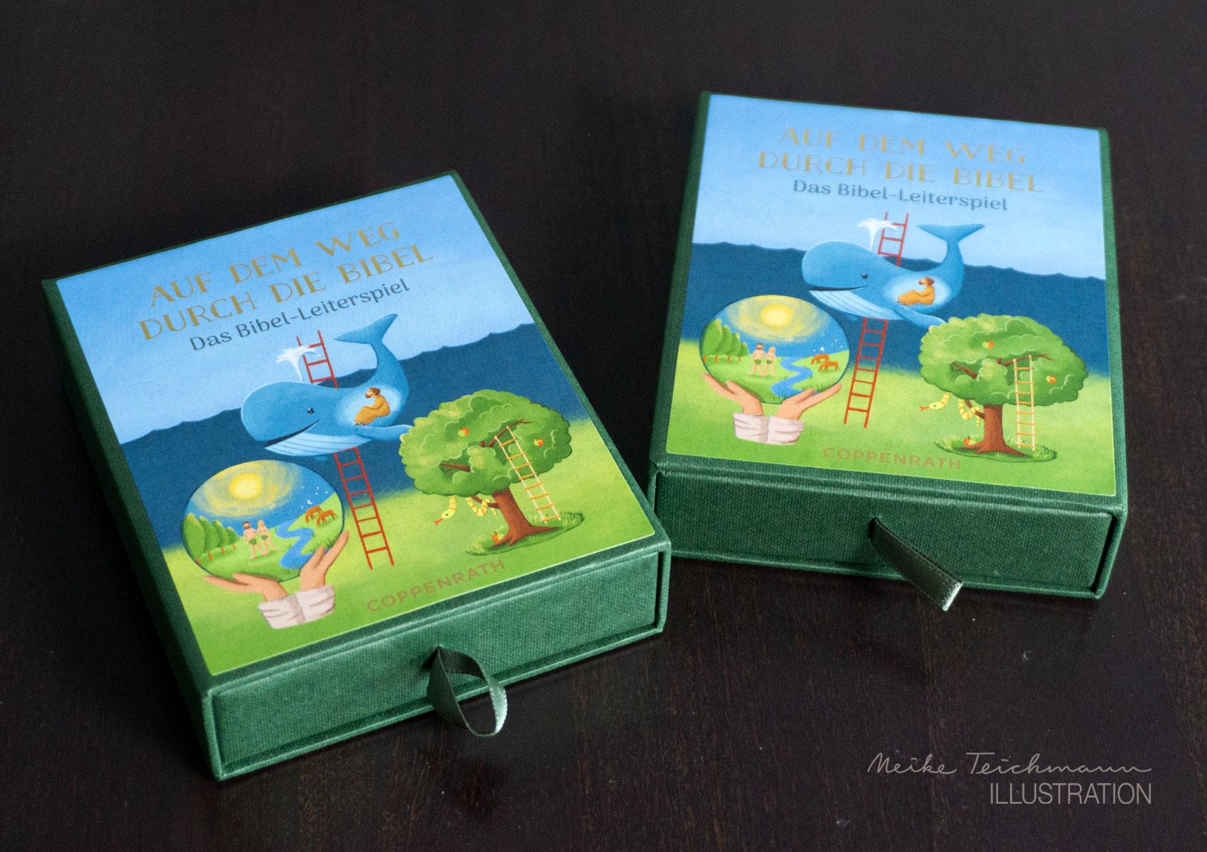 Biblisches Spiel, Schachtel