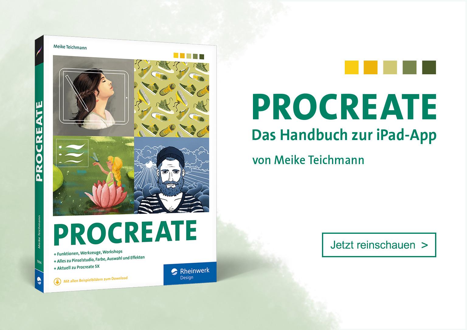Dein Handbuch für Procreate