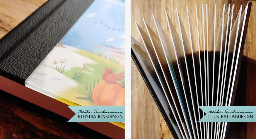 Saal Digital Fotobuch Buchseiten