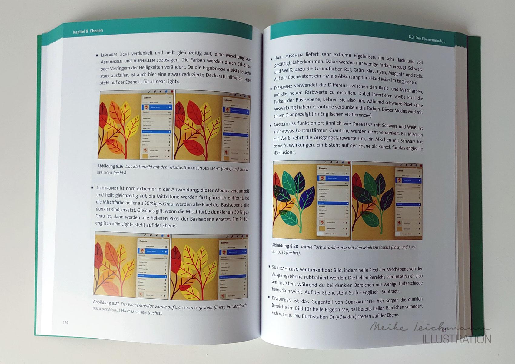 Ebenenmodi Procreatebuch