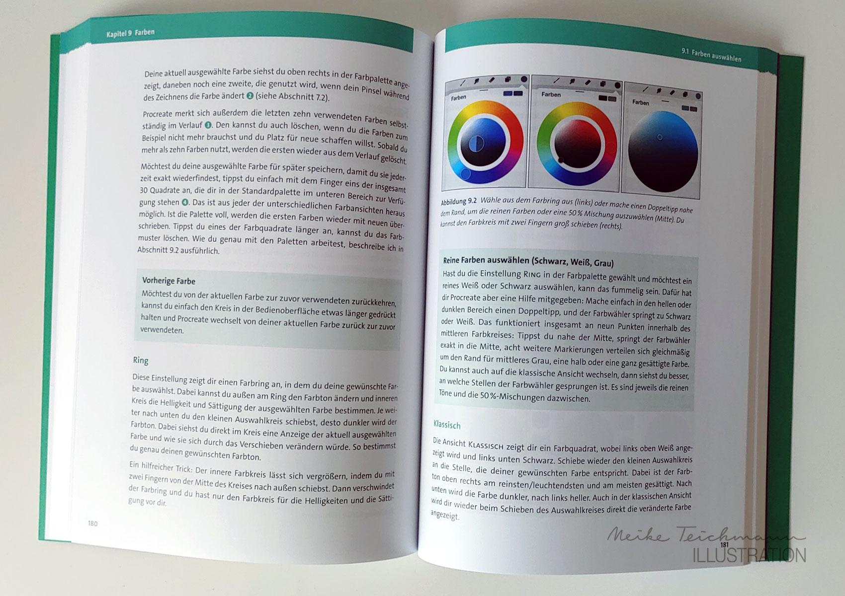 Farben Handbuch Procreate