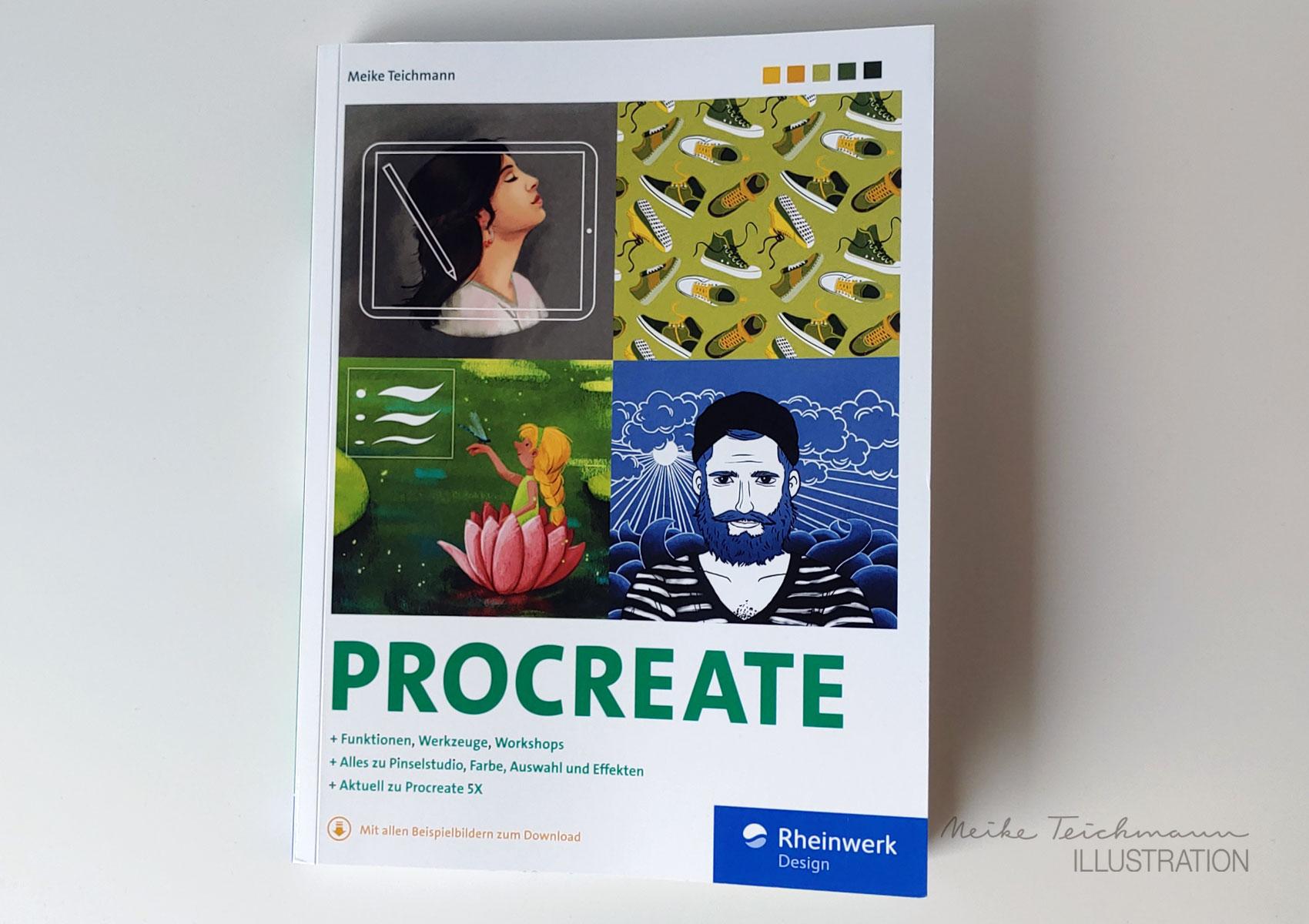 Cover Procreate Handbuch